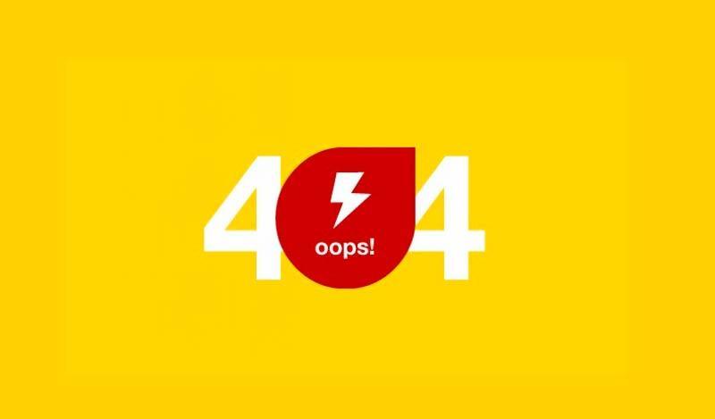 Páginas 404. Diseño web valencia