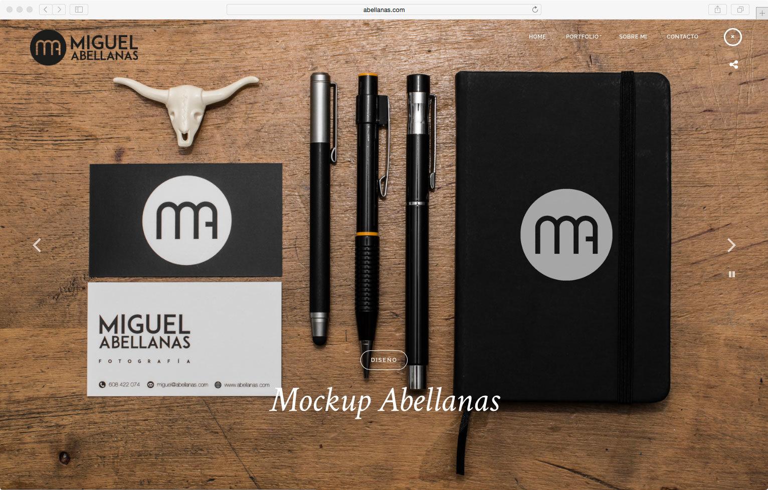 wellaggio diseño web valencia abellanas estudio de fotografía