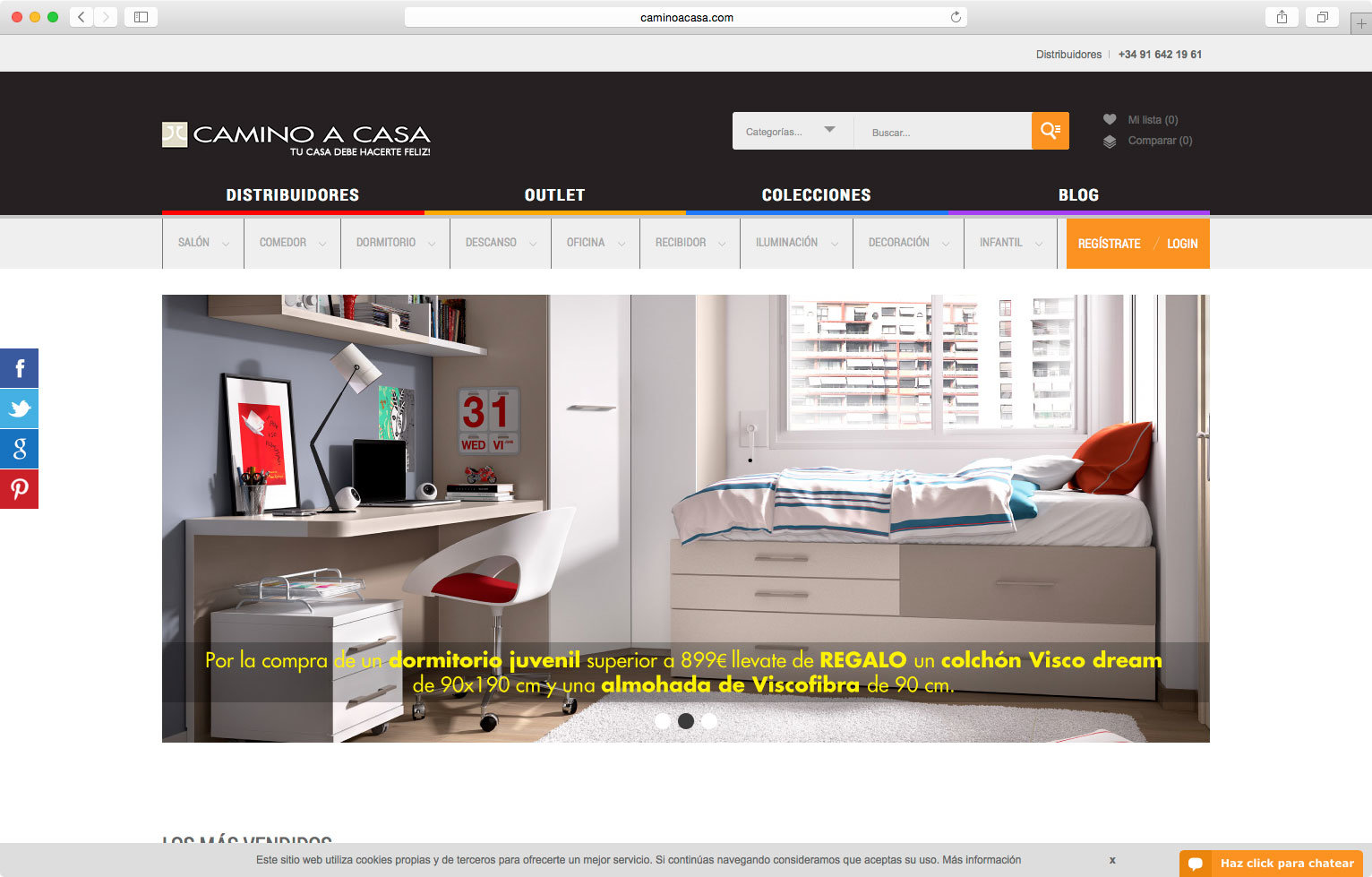 wellaggio diseño web valencia camino-a-casa