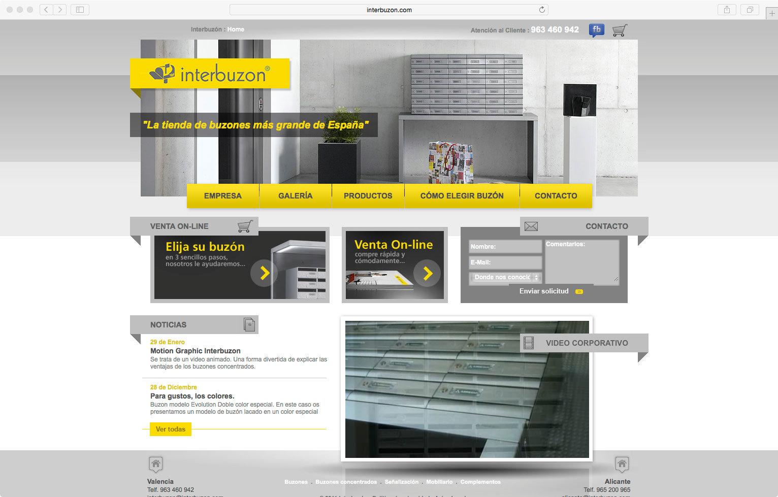 wellaggio diseño web valencia interbuzon