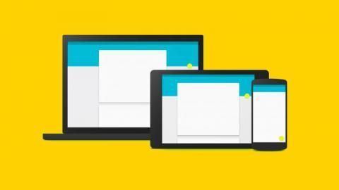 Material de diseño web, el nuevo lenguaje visual creado por Google