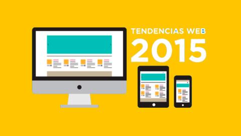 Ultimas tendencias en diseño web