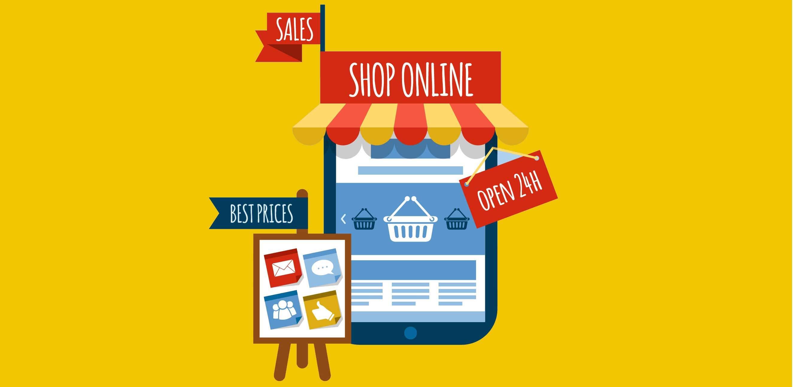 Tiendas online. Diseño web valencia