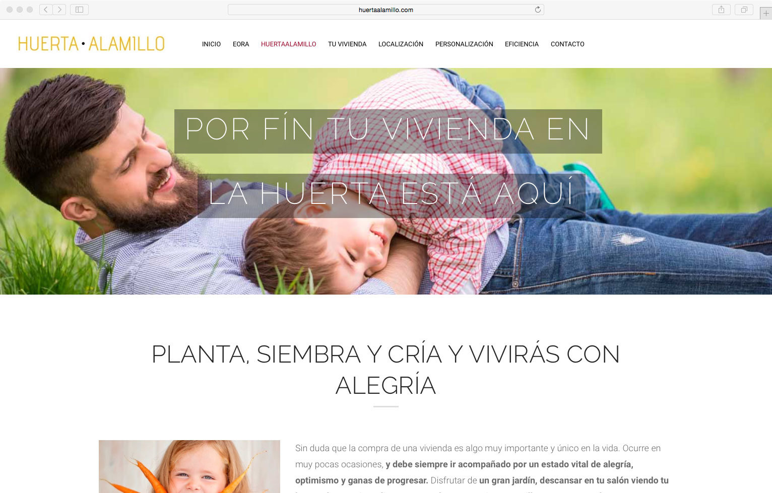 wellaggio diseño web valencia huerta-alamillo