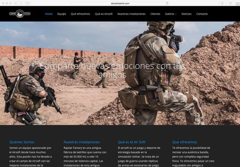 pagina-web-airsfteventsvalencia