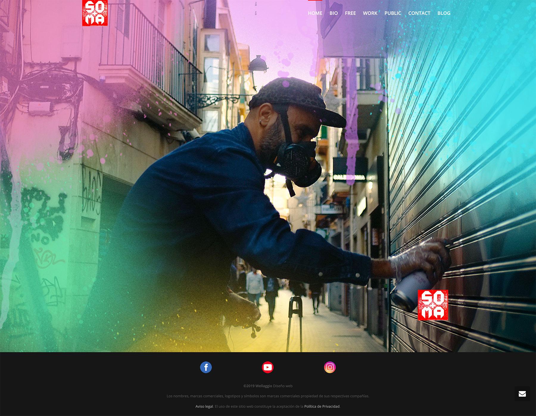 Diseño web Valencia | Página web de SOMA