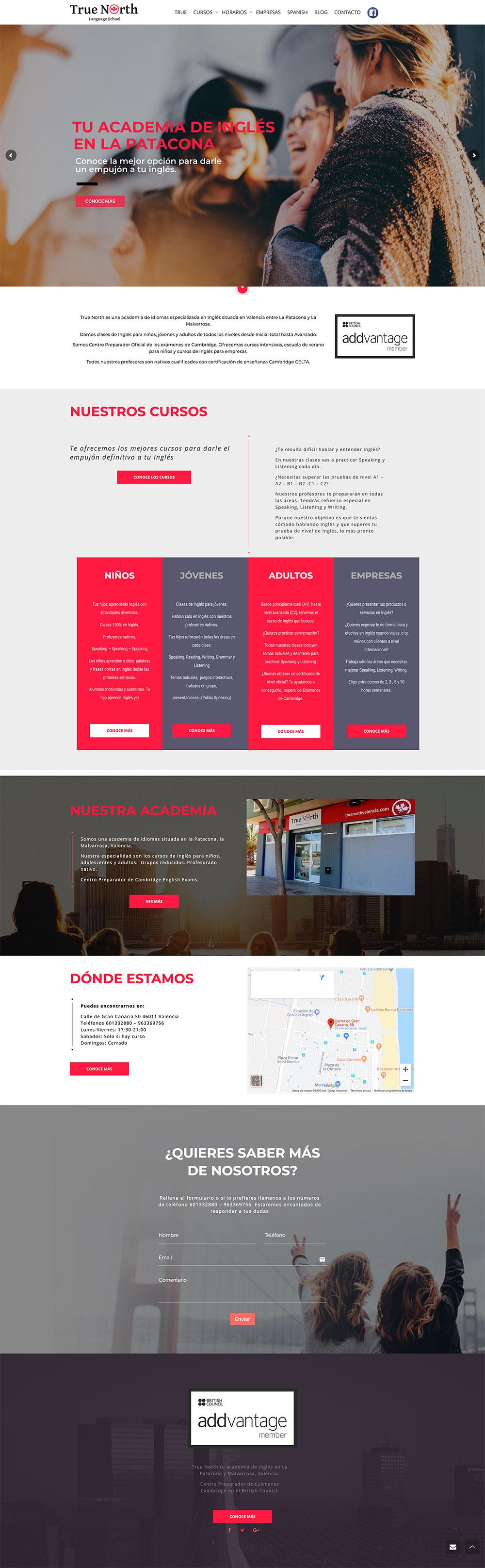 diseno-web-valencia-pagina-web-de-academia-de-idiomas