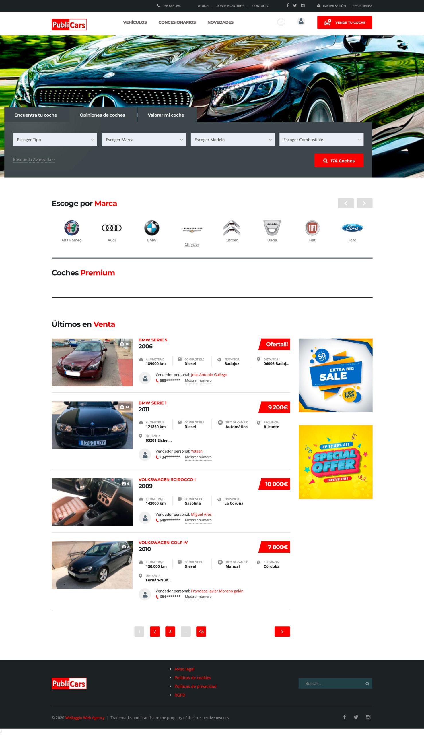 Diseño web Valencia   Diseño página web Publicars