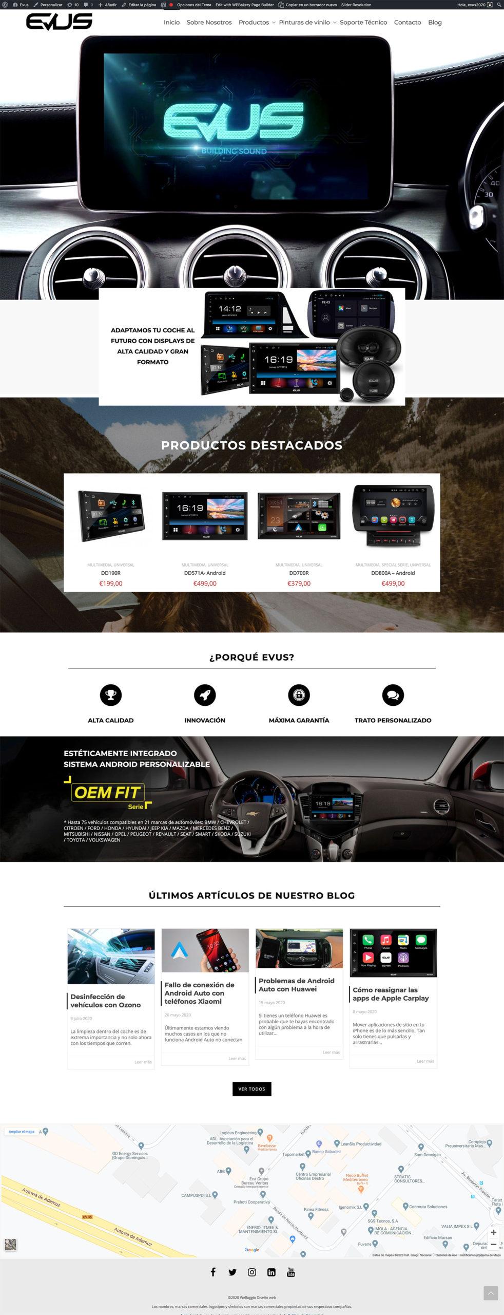 Evus | Wellaggio web agency